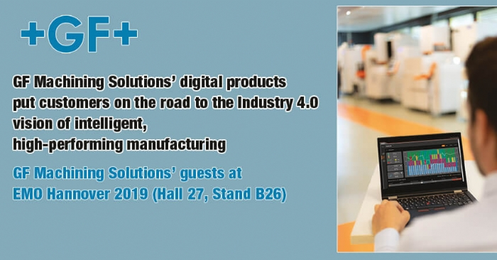 GF Machining Solutions' digital products put customers on the road to the Industry 4.0 vision